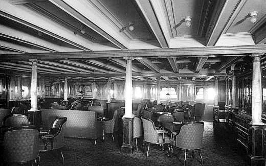 RMS Titanic 2nd Class Library