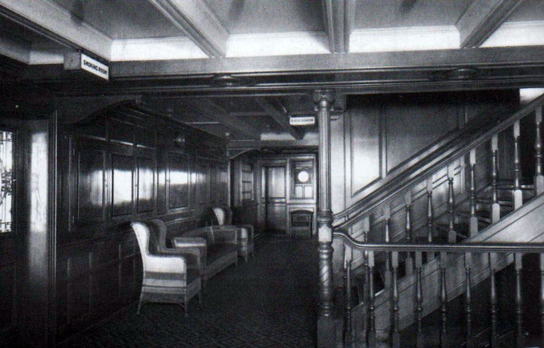 Titanic 2nd Class Stairs