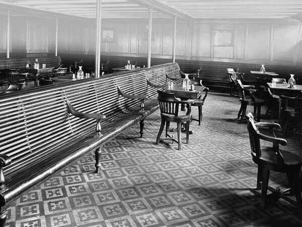 RMS Titanic Third Class General Room