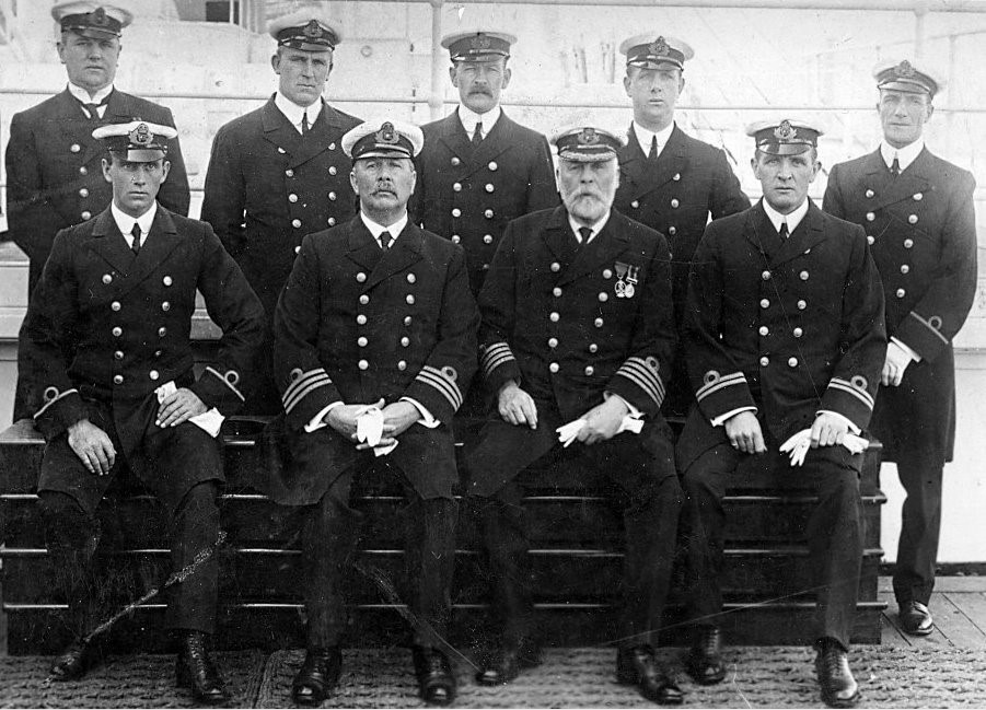 RMS Titanic Officers
