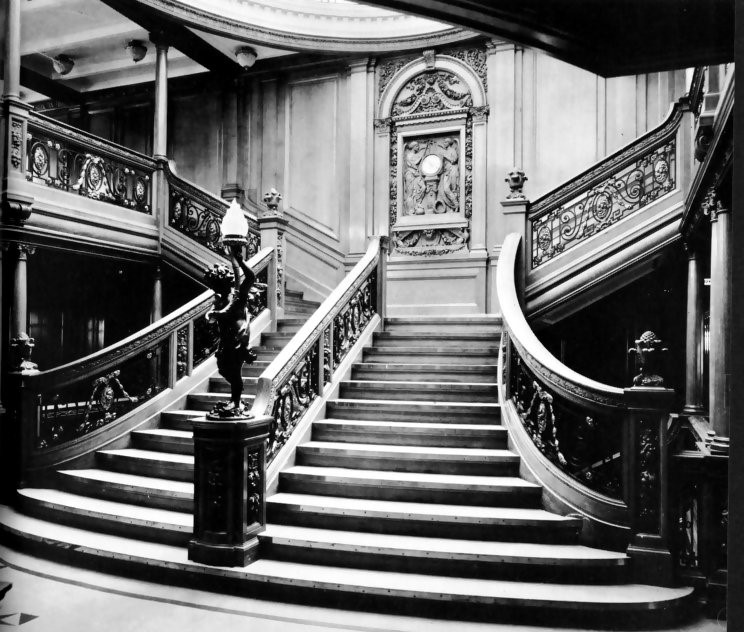 RMS Olympic First Class Grand Staircase