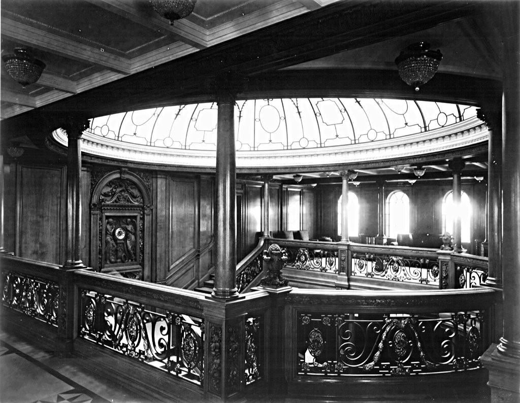 RMS Olympic Grand Staircase
