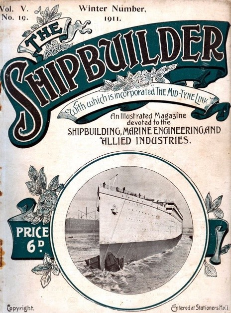 The Shipbulider Winter 1911